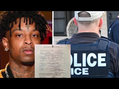 21 Savage Lawyers Claim ICE IS Trying 2 INTIMIDATE Him W/10 Year BAN! Mp3