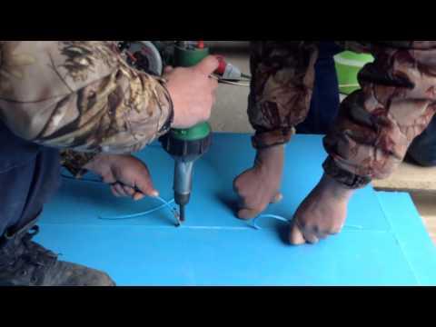 Копия видео Сварка полипропиленовых листов