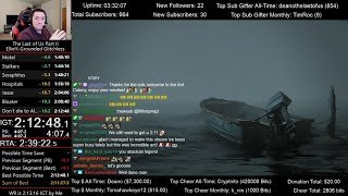 The Last of Us Part II Speedrun World Record! (2:12:54 IGT) for Ellie% on Grounded mode (Glitchless)