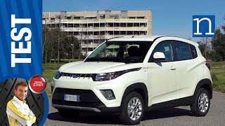 Mahindra KUV 100 NXT bifuel benzina GPL low cost  🌴🌱 - TEST CITY CAR