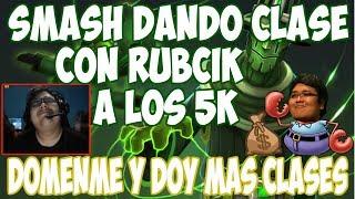 SMASH DANDO CLASES A LOS 5K CON RUBICK | DICE EN 5K ES LA MISMA WEBADA