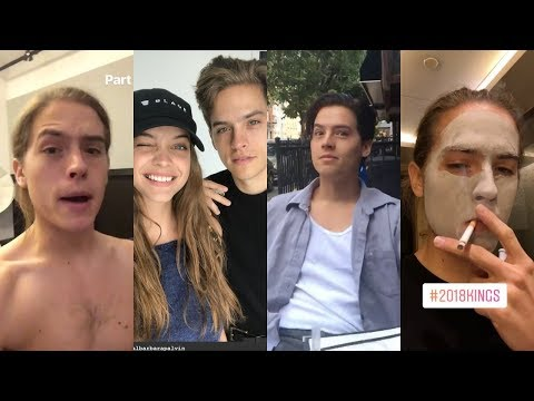 Dylan Sprouse Instagram Stories  MarchAugust 2018