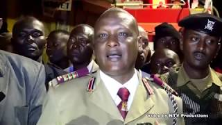 Fire destroys property of unknown value at Machakos bus stage