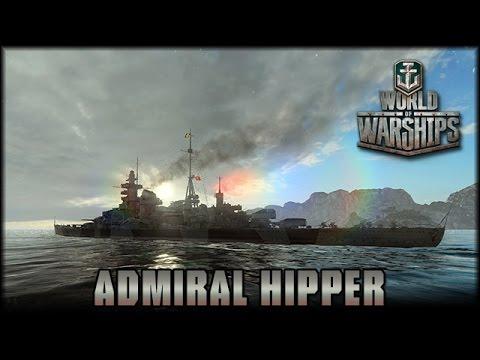 World of Warships - Admiral Hipper - Das letzte Gefecht [ deutsch | Gameplay ]