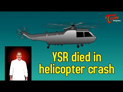 YSR died in helicopter crash