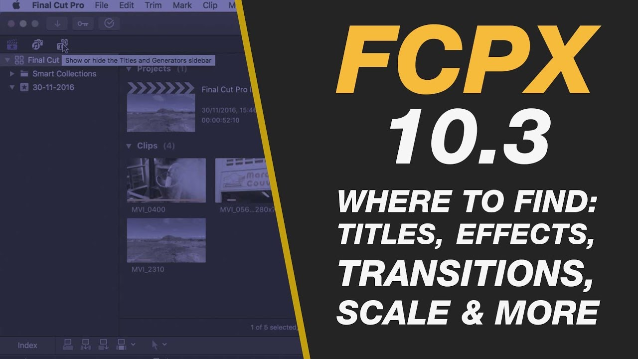 20 of the Best Final Cut Pro X Beginner Tutorials - A Complete List