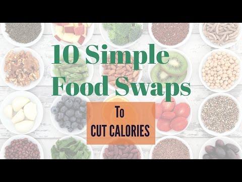 10 Simple Food Swaps to Cut Calories