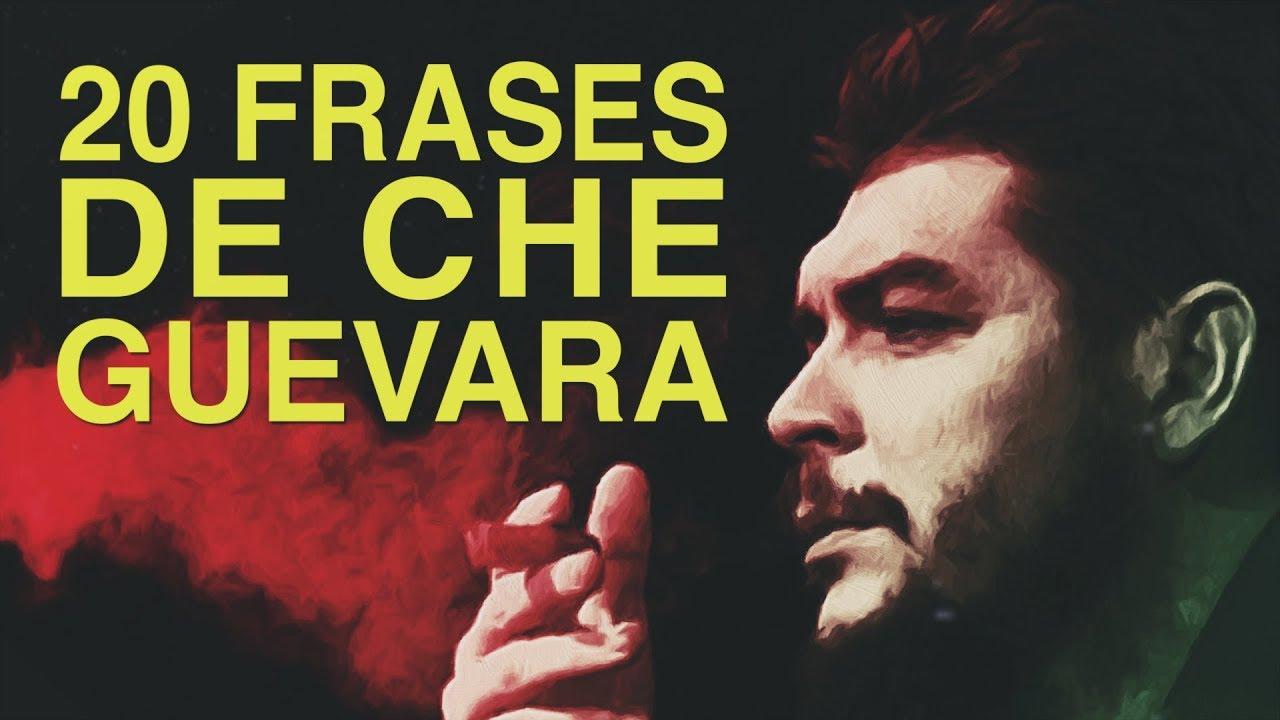 20 Frases De Che Guevara Pensamiento De Un Guerrillero