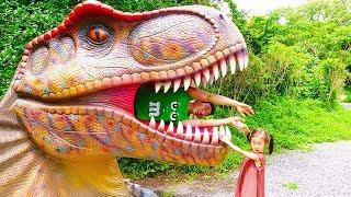아빠 공룡 찾기 인기 동요 놀이 Dinosaur Nursery Rhymes Song for kids songs & children