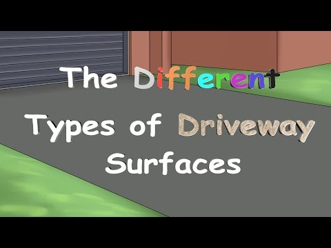 The Different Types of Driveway Surfaces!