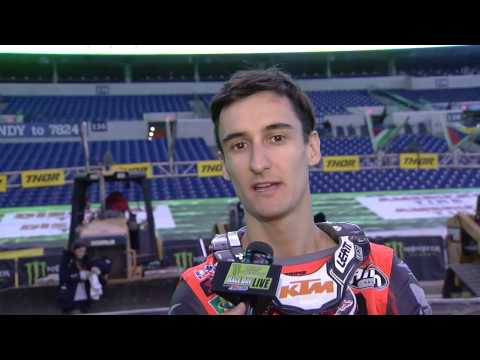 Marvin Musquin Interview - Indianapolis - Race Day LIVE - 2017