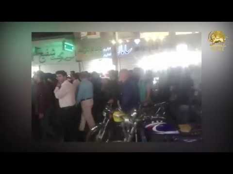ABADAN, Iran, Sep 6 Iranians protesting the corrupt presence of Iraqis in their country