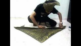 Seni Lipatan Tengkolok Melayu 1