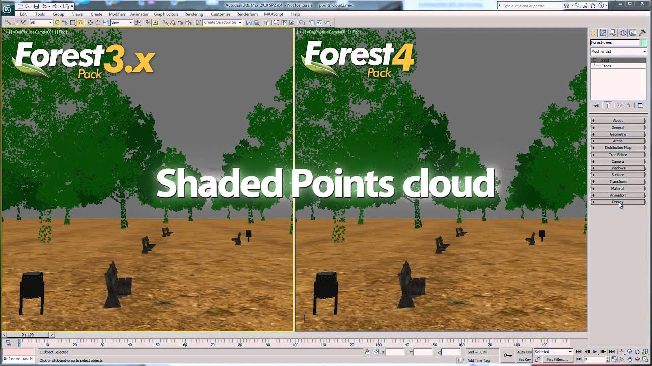 iToo Software ships Forest Pack 4 for 3ds Max | CG Channel