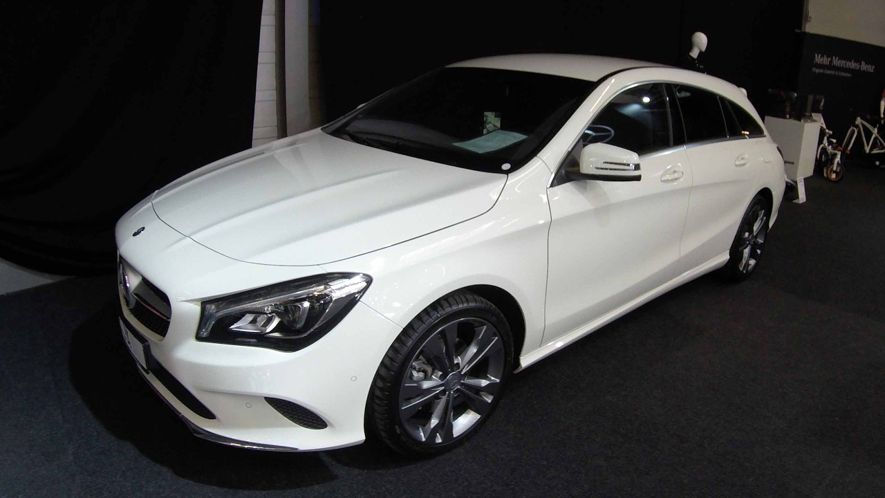 mercedes benz cla 180 shooting brake x117 white. Black Bedroom Furniture Sets. Home Design Ideas