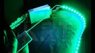 KRT-1522, RGB аудио-контроллер 4А-канал с РПДУ(Аудиоконтроллер, может управляться звуком (аудиовход или с микрофона). 7 статических и 6 динамических програ..., 2011-05-21T13:12:57.000Z)