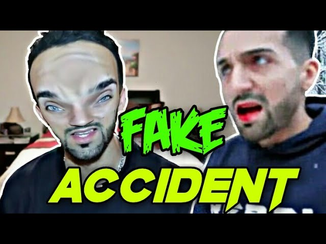 Sham Idrees Car Accident Exposed With Proof Sham Idrees Is Fake Car Accident Exposed Part 4