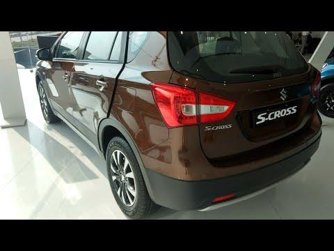 All-New Maruti Suzuki S-Cross Alpha Variant Interior and Exterior Walkaround !!