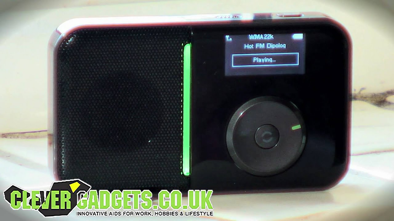 Portable Wireless Wifi Internet Web Radio Player With Fm