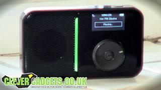 PORTABLE WIRELESS WIFI INTERNET WEB RADIO PLAYER WITH FM