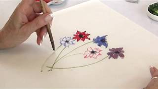 Painting the Anemone