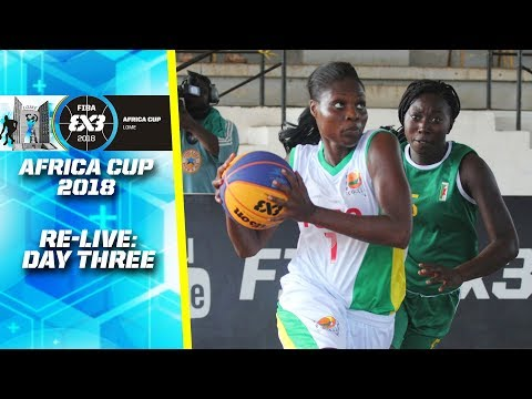 RE-LIVE - FIBA 3x3 Africa Cup 2018 - Day 3 - Lomé, Togo