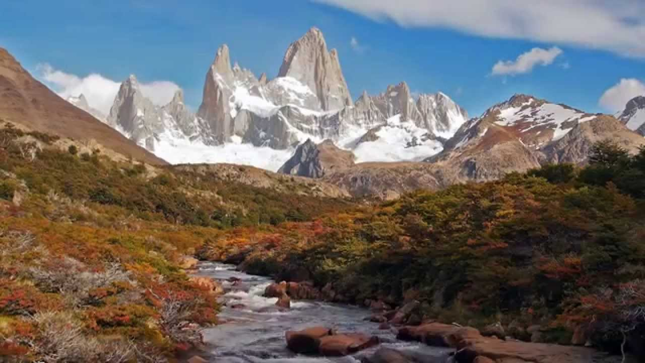 Fall In Colorado Wallpaper Cerro Fitz Roy At El Chalt 233 N Argentina In Hd Youtube