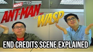 SPOILER ALERT! Ant-Man and the Wasp Post Credit Scenes Explained