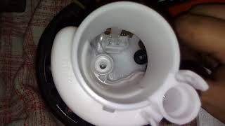 как заменить бензонасос и фильтр тонкой и грубой очистки. honda stream rn-3