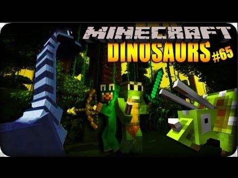 Minecraft dinosaurs jurassic park episode 65 dinosaur dimension youtube - Dinosaure de jurassic park ...
