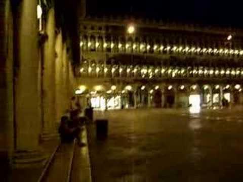 Venice - St Marcs Square - Post-Engagement