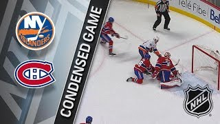 New York Islanders vs Montreal Canadiens – Jan. 15, 2018 | Game Highlights | NHL 2017/18. Обзор игры