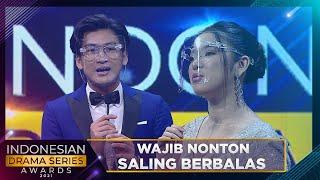 Download Mp3 WAJIB NONTON ANREZ DAN TIARA SALING BERBALAS KEMESRAAN INDONESIAN DRAMA SERIES AWARDS 2021