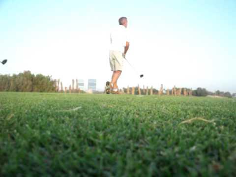 16th tee Doha Golf Club 9th June 2010