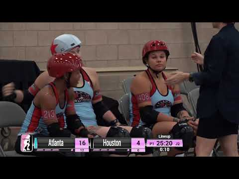 2017 International WFTDA Playoffs: Dallas - Game 14: Houston Roller Derby v Atlanta Rollergirls
