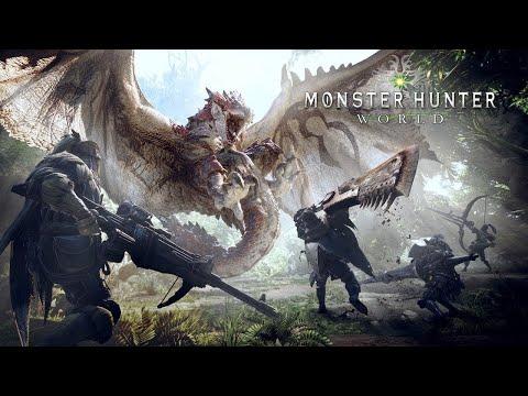 MONSTER HUNTER WORLD - O Início de Gameplay, em Português PT-BR!