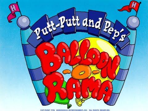 Putt-Putt and Pep's Balloon-o-Rama Walkthrough
