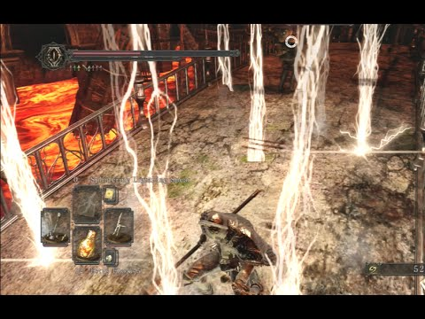 dark souls 2 splintering lightning spear showcase new miracle in