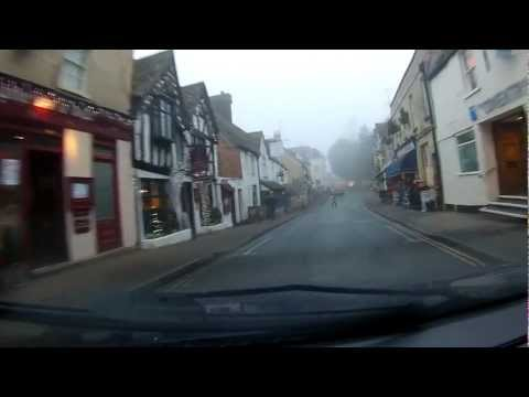 A Drive Through Winchcombe in Gloucestershire