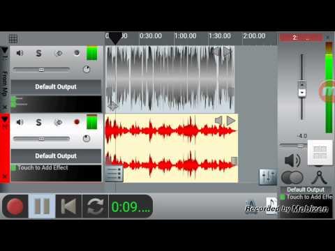 شرح برنامج n track pro للاندرويد للهندسة الصوتية - YouTube