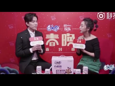 Dimash IQIYI and Phoenix Chinese New Year interviews(click cc for eng sug)