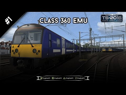 Heading Out | Class 360 EMU | 1080p/60FPS | FrogDudeTV |