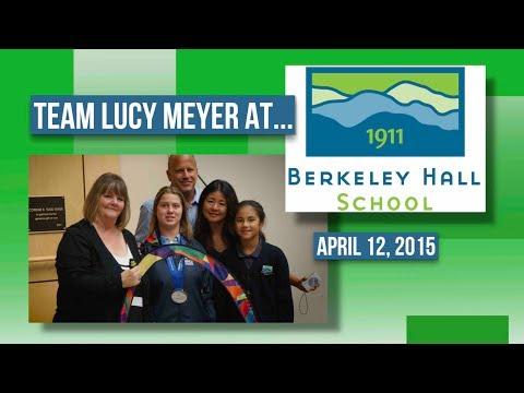 Team Lucy Meyer: Berkeley Hall School 4-12-15