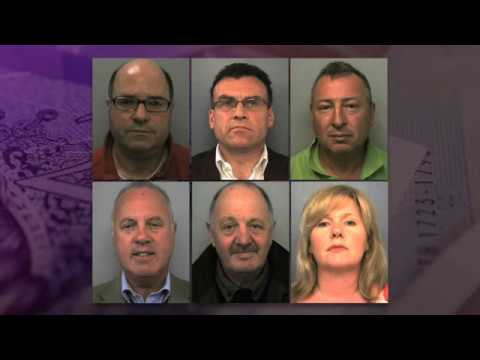 Six jailed in HBOS £250m fraud case