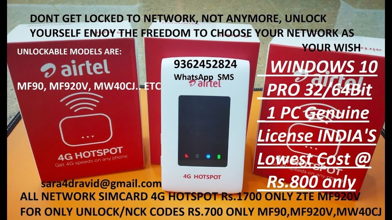 How to Unlock Airtel 4G Hotspot E5573CS-609 and use any sim of 2G/3G