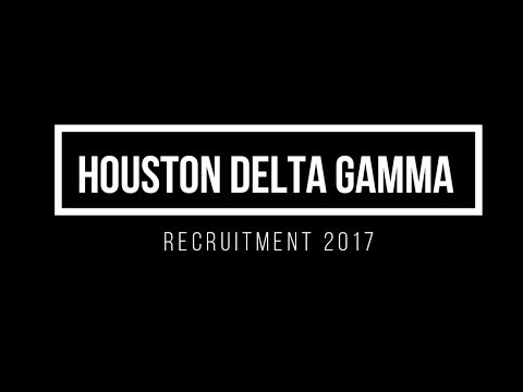 Delta Gamma University of Houston 2017
