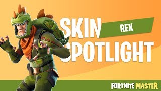 Rex Skin Spotlight (Fortnite Battle Royale)