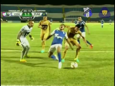 Honduras Progreso vs Pumas (2-1) Concachampions  2016 Cruzazuleada Puma