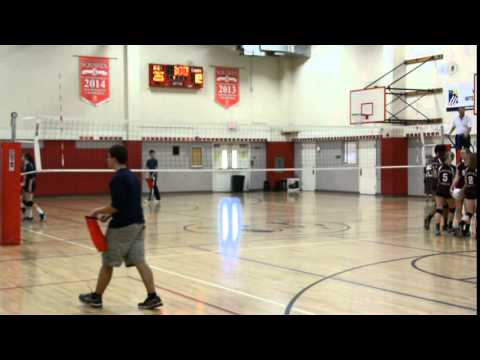 Holy Names High School Volleyball Varsity 10-28-15