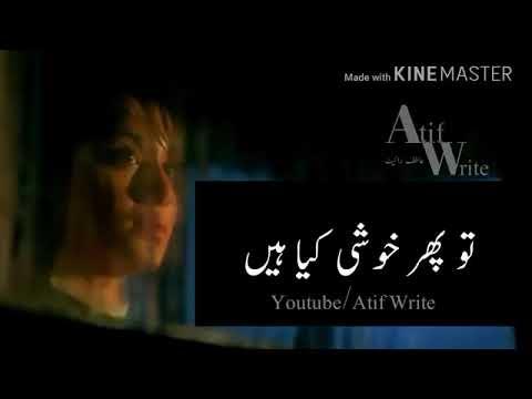 Teri Khushi Na Ho Shamil To Phir Khushi Kya Ha | Best Whatsapp Status Song |